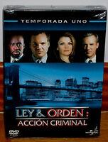 LEY Y ORDEN 1ª TEMPORADA COMPLETA  6 DVD NUEVO PRECINTADO SERIE (SIN ABRIR) R2