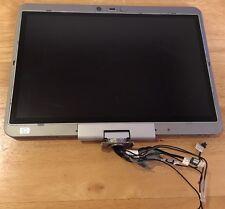 HP Elitebook 2730p OEM Complete Matte LCD Screen Assembly 12 1 w HINGES + Screws