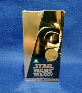 Star Wars Original Trilogy Digitally Mastered Special Edition VHS NEW AND SEALED