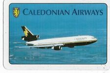Sealed pack of Caledonian Airways playing cards European phrase deck sealed