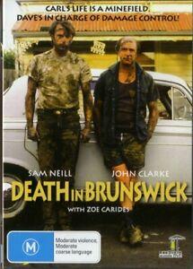 DEATH IN BRUNSWICK - SAM NEILL - NEW & SEALED DVD - FREE LOCAL POST