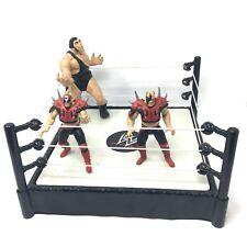Legion Of Doom 1997 WWE WWF Tag Team 2 Vs Andre The Giant Jakks Pacific + Rink