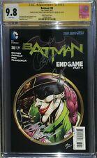 Batman #38 Kubert Variant CGC SS 9.8 signed by Scott Snyder, Capullo, & Kubert