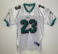 NWOT RONNIE BROWN MIAMI DOLPHINS JERSEY #23 NFL SIZE 52 REEBOK ON FIELD