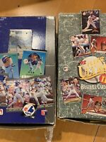 1991 fleer ultra baseball wax box+ 1992 Fleer Ultra Series 2 Wax box