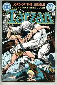 Tarzan #227-1974 fn/vf DC Comics Joe Kubert / Snow Apes