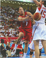 Kara Lawson Signed 8 x 10 photo Wnba Basketball Usa Olympics Tennessee Lady Vols