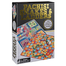 Cardinal Classic Games Pachisi (Ludo) and Snakes & Ladders Board Game