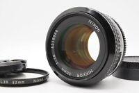 [EXC+5] Nikon Ai 50mm f/1.4 MF Prime Standard F Mount Lens From Japan