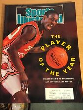 Gary Payton Sports Illustrated, March 5, 1990, 'The Player Of The Year'