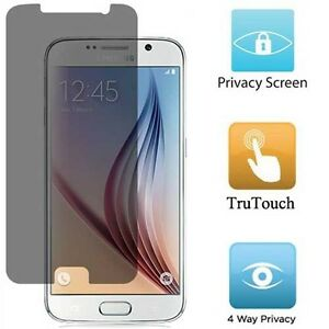 SAMSUNG GALAXY S6 - PRIVACY SCREEN PROTECTOR ANTI-PEEP LCD DISPLAY COVER FILM