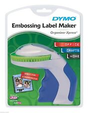 Dymo Organizer Xpress Manual Embossing Label Maker #12965 with Tape NEW & Sealed