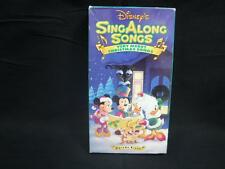 VHS Rare Disney's Sing Along Songs Very Merry Christmas songs Volume 8