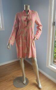 anna scholz oriental mandarin style light jacket with pockets  size M new