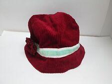 BETMAR NY Cotton Corduroy Burgundy Womans Bucket Hat - NWT