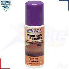 Nikwax Conditioner for Smooth Leather Footwear Conditioning Waterproofing 125ml