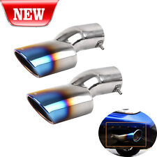 FOR 16-17 HONDA CIVIC STAINLESS STEEL POLISHED MUFFLER EXHAUST TIP FINISHER