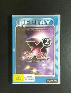 X2 The Threat *New / Sealed (PC, 2003) PC Game - FREE POST