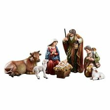 "6 Piece Michael Adams Nativity Scene 5"" Figures Gift Boxed"