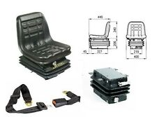 60604+60700+A5073019 SEDILE TRATTORE COBO GT60 CON MOLLEGGIO COMPATTO e CINTURE