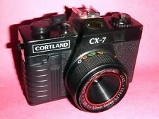 TOY-LOMO 35 MM POINT & SHOOT CAMERA-CORTLAND CCX 7-TESTED & WORKING-LOMOGRAPHY