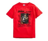 NEXT Boys Avengers T Shirt Age 12 Years Lenticular Top Thor Hulk Thanos Iron Man