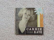 NEW! If You Believe by Carrie Raye (CD, 2002) FREE SHIPPING!