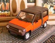 RENAULT RODEO 5 4 SAISONS TEILHOL 1982 UNIVERSAL HOBBIES M6 COLLECTIONS ORANGE