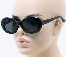 Nirvana Sunglasses Kurt COBAIN INDIE Round MOD Grunge BLACK