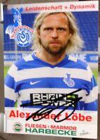 MSV Duisburg + Handsignierte Autogrammkarte + Alexander Löbe /14