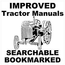 JI Case Tractor C D L LA R S V VA RC SC VC DC VAC Repair SHOP Service Manual CD