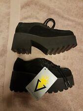 Vintage Rareee Volatile Shag Platform Shoes Size 6 Bnwt