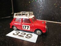 Vintage Corgi Toys BMC Mini Cooper S Rallye Monte Carlo # 177 (329)