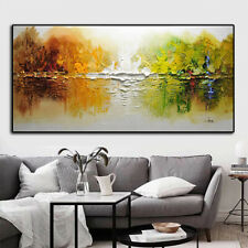 YA1449 Large100% Hand-painted abstract Scenery oil painting on canvas Unframed