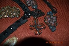 Lot of Victorian Dress Accents (Beaded/sequins)