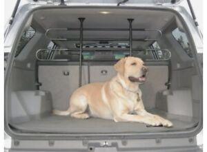 Adjustable Car Van Pet Barrier Partition Portable Dog Gate Fence Cargo Trunk