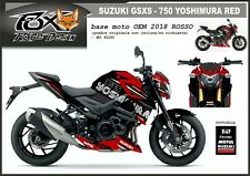 ADESIVI stickers moto KIT per SUZUKI GSXS 750 2017 YOSHIMURA RED