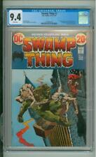 Swamp Thing #2 CGC 9.4 Origin &1st Full App Of Dr. Anton Arcane 1973