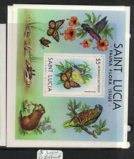 St Lucia Butterfly SC 542 MNH (4efz)