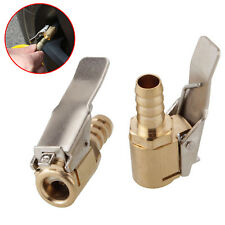Tyre Valve Air Hose Large Bore Airline Inflator Connector Clip On Car 6MM