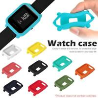 Color Silicone Case Cover Protect Shell For Xiaomi Huami Amazfit Bip Youth Watch