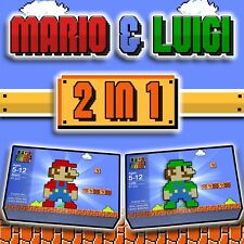 Custom LEGO Mario & Luigi Building Sets - WITH Instructions to Build