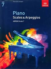 PIANO Scales & Arpeggios  ABRSM  Grade 7. Exam Music Book