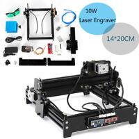 DIY Mini Laser Engraver CNC Router Carve Kit Marking Printer Machine USB 10W