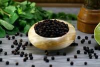 Schwarzer Kampot Pfeffer, Gourmetprodukt in herausragender Qualität(5g)