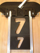 Ersatznummern 38 + 63 mm, vertikal, 20-teiliges Set