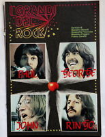 The Beatles insert italian magazine 12 colour pages I GRANDI DEL ROCK Paul John