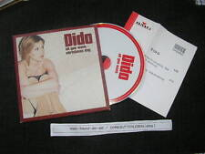 CD Pop Dido - All I Want ( 2 Song ) Promo BMG ARISTA + presskit
