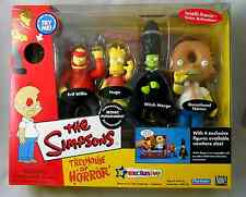 THE SIMPSONS_TREEHOUSE OF HORROR # 3_Interactive Playset_4 Exclusive figures_MIB