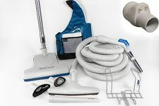 GENUINE Vacuflo 35' Turboteam Deluxe central vacuum kit/set with Pronged Hose
